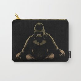 Ape Meditating Carry-All Pouch