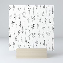 Wildflowers Mini Art Print