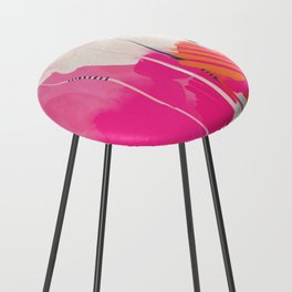 pink sky II Counter Stool