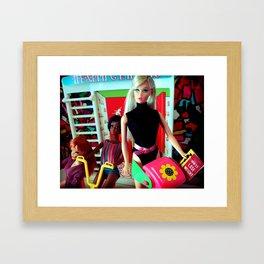 Ana at the gym, 1969 Framed Art Print