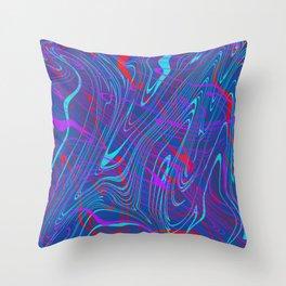 swirls, brp Throw Pillow