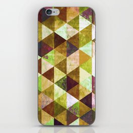 Abstract #825 iPhone Skin