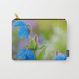 Himalayan Blue Poppies, after the rain Carry-All Pouch