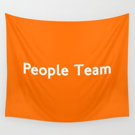 People Team Wall Tapestry