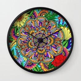 Flower New Wall Clock