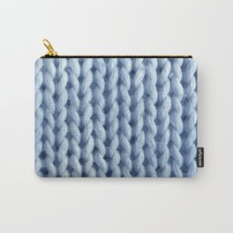 knitwit: baby blue Carry-All Pouch