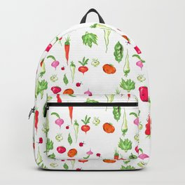 Veggie Party Pattern Backpack