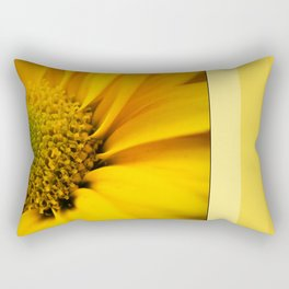 Big Yellow Flower Rectangular Pillow