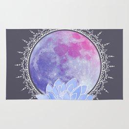full moon lotus Rug