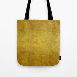 """""""Gold & Ocher Burlap Texture"""" Tote Bag"""