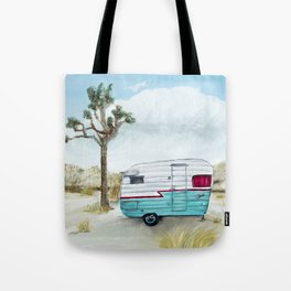 My home in Joshua Tree Tote Bag