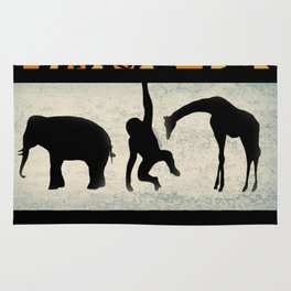 Animals on Parade Rug
