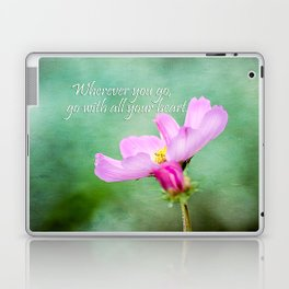 Go With Your Heart Laptop & iPad Skin