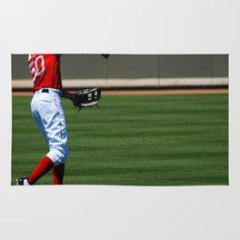 Love Baseball Rug