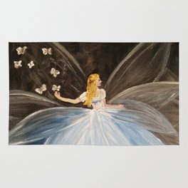 The Butterfly Fairy Rug