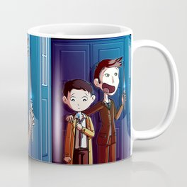 Castiel and The Doctor  Coffee Mug