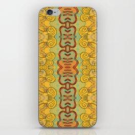 Boujee Boho Elegant Golden Charm iPhone Skin