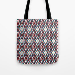 Cool vintag colorful pattern #society6 Tote Bag