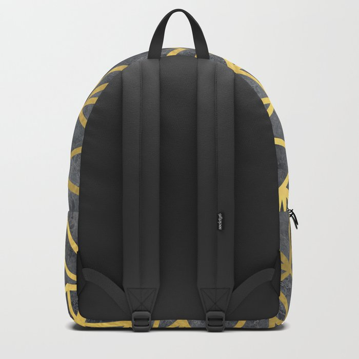Ab Marb Gold Backpack