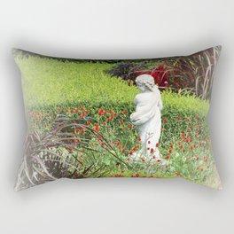 Cupids Garden Rectangular Pillow