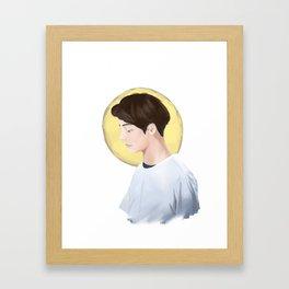 Bangtan's V Framed Art Print