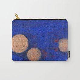 Golden Orbs 1 - Horizontal Carry-All Pouch