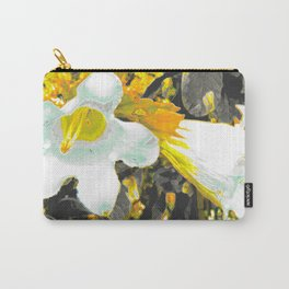 """Fiori della Luna"" by ICA PAVON Carry-All Pouch"