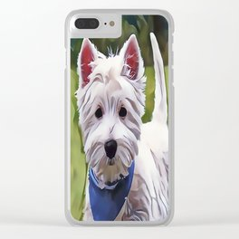 The West Highland Terrier Clear iPhone Case