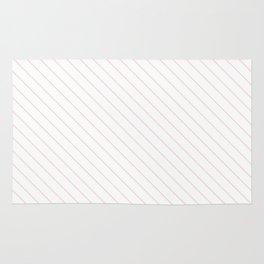 Blushing Bride Stripe Rug