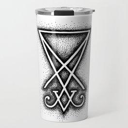 Sigil Of Lucifer Travel Mug