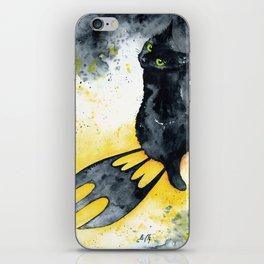 Bat Cat iPhone Skin