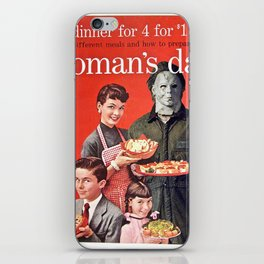 Michael Myers as Good Father iPhone Skin