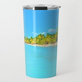 Saona Island - Art 001C Travel Mug