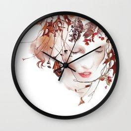 The Faun Wall Clock