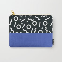 Memphis pattern 49 Carry-All Pouch