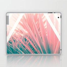 Pastel Palms into Triangle Laptop & iPad Skin