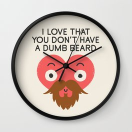 Groomed For Love Wall Clock
