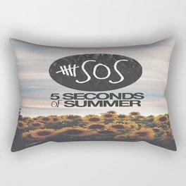 5 seconds of summer sunflowers Rectangular Pillow