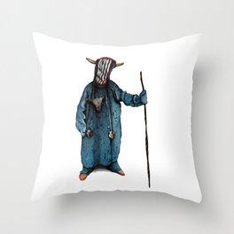 Monster 1 Throw Pillow