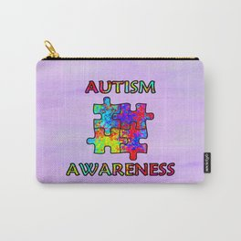 Autism Awareness Carry-All Pouch