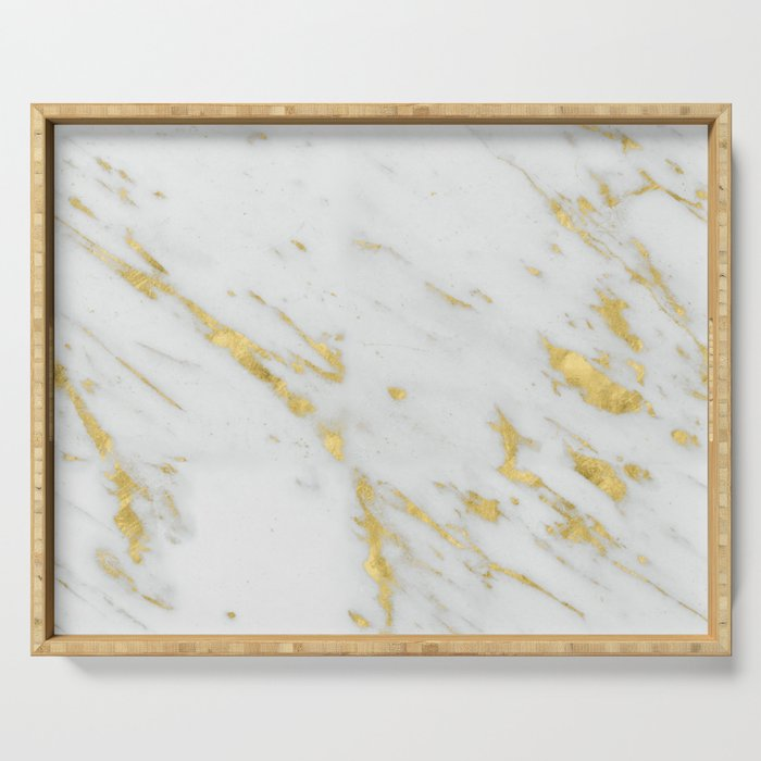 Treviso gold marble Serving Tray