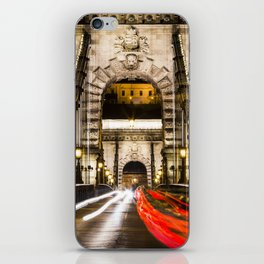 Budapest Chain Bridge iPhone Skin
