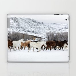 Carol Highsmith - Wild Horses Laptop & iPad Skin