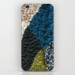 A Color Story Rug Hooked Art iPhone Skin