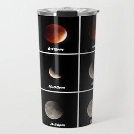 Supermoon & Eclipse -  September 27, 2015 Travel Mug