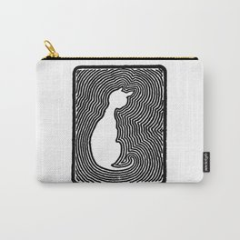 Cat eco. Carry-All Pouch