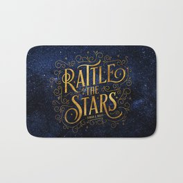 Rattle the Stars Night Bath Mat
