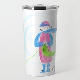 Spring Knitter Travel Mug