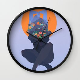 Anhedonia Wall Clock