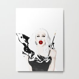 Sharon Needles, RuPaul's Drag Race Queen Metal Print